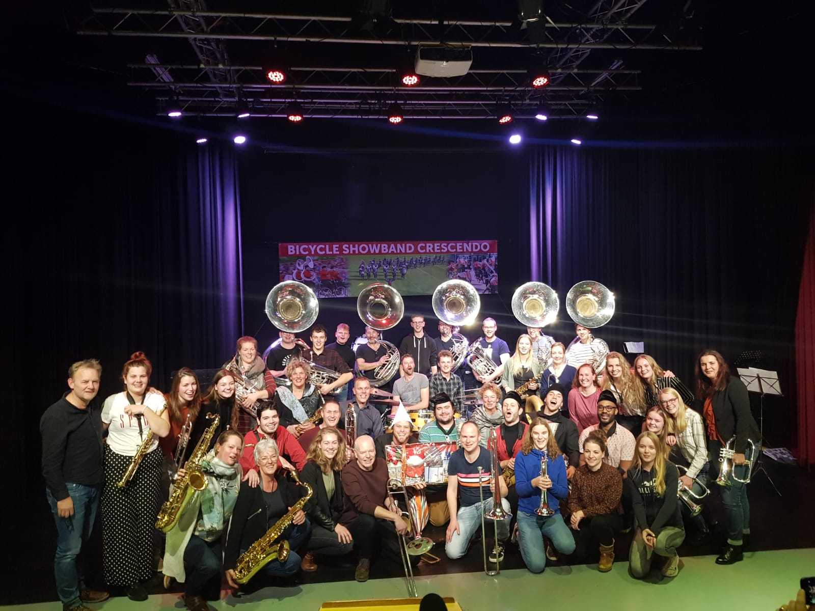 Lucky Chops / Bicycle Showband Crescendo 2019